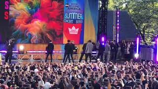 BTS Perfrom Boy With Luv on GMA (Rehearsal)  Queen Domo