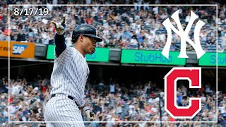 Cleveland Indians @ New York Yankees | Game Highlights | 8/17/19
