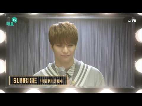 [해요TV] 170324 빅톤 VICTON - 'SUNRISE' LIVE (눈코입 Ver.)