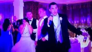 Military brother misses sisters wedding but makes an entrance at the end of the night!