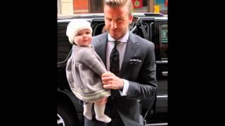 Harper - 'quý cô xinh đẹp' trong mắt David Beckham