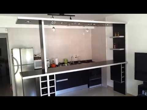 Video separador de ambientes desayunador copero - Como hacer un separador de ambientes ...