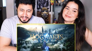 HOGWARTS LEGACY | Official Reveal Trailer | PS5 | Reaction | Jaby Koay & Achara Kirk!