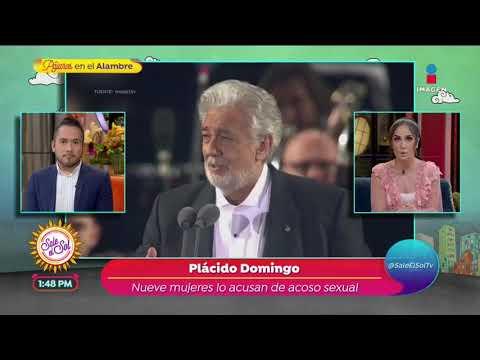 ¡Placido Domingo es acusado de acoso! | Sale el Sol