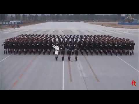 2019国庆阅兵女兵方队训练抢先看