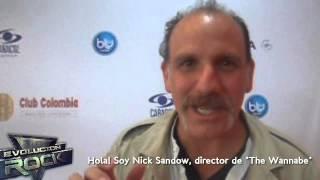 Nick Sandow (Joe Caputo en 'Orange is the New Black') saluda a Evolución Rock