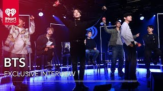BTS Answers Fan Submitted Questions + More! | iHeartRadio LIVE!