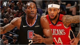Los Angeles Clippers vs New Orleans Pelicans - Full Game Highlights   January 18, 2020 NBA Season