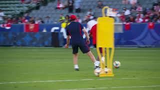 Arsenal tập luyện trước trận với  Bayern Munich Giải Champions Cup 2019
