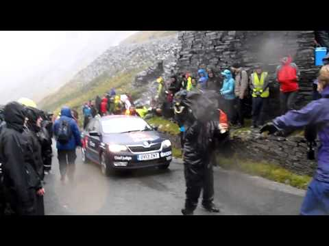 Tour of Britain 2013 Honister Pass