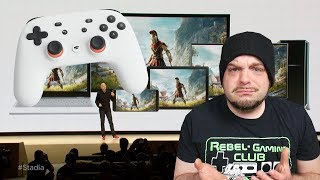 Google Stadia REACTION - No Price, No Games, 2019 Launch? | RGT 85