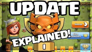 UPDATE! Clash of Clans Clan War League EXPLAINED with GAMEPLAY!