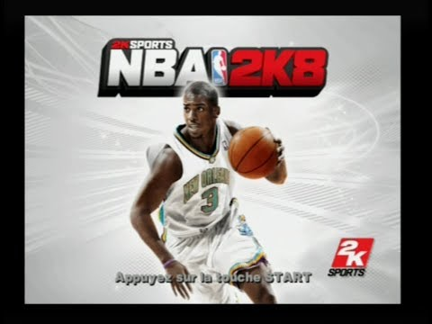"[Ps2] Introduction du jeu ""NBA 2K8"" de 2K Sports (2007) - YouTube"
