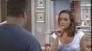 King of Queens Kevin James and Leah Remini bloobers