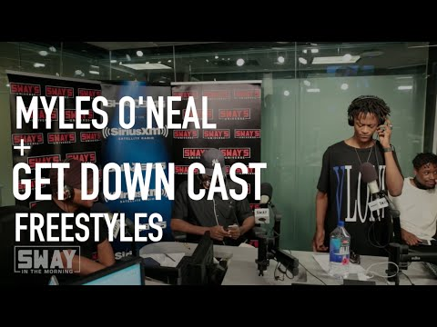 Shaq's Son, Myles O'Neal, Freestyles Live on Sway in the Morning
