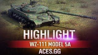 За пять минут! WZ-111 model 5A