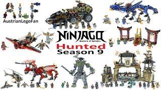 All Lego Ninjago Season 9 Hunted Sets Summer 2018 - Lego Speed Build Review