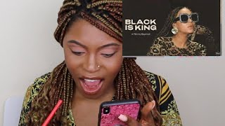 BLACK IS KING:  REACTION AND UNPOPULAR OPINON TO BEYONCE'S NEW VISUAL ALBUM