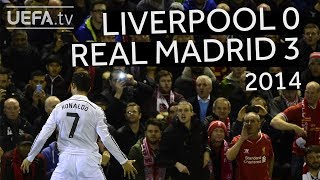 RONALDO, BENZEMA, COUTINHO: LIVERPOOL 0-3 REAL MADRID, 2014/15 CHAMPIONS LEAGUE