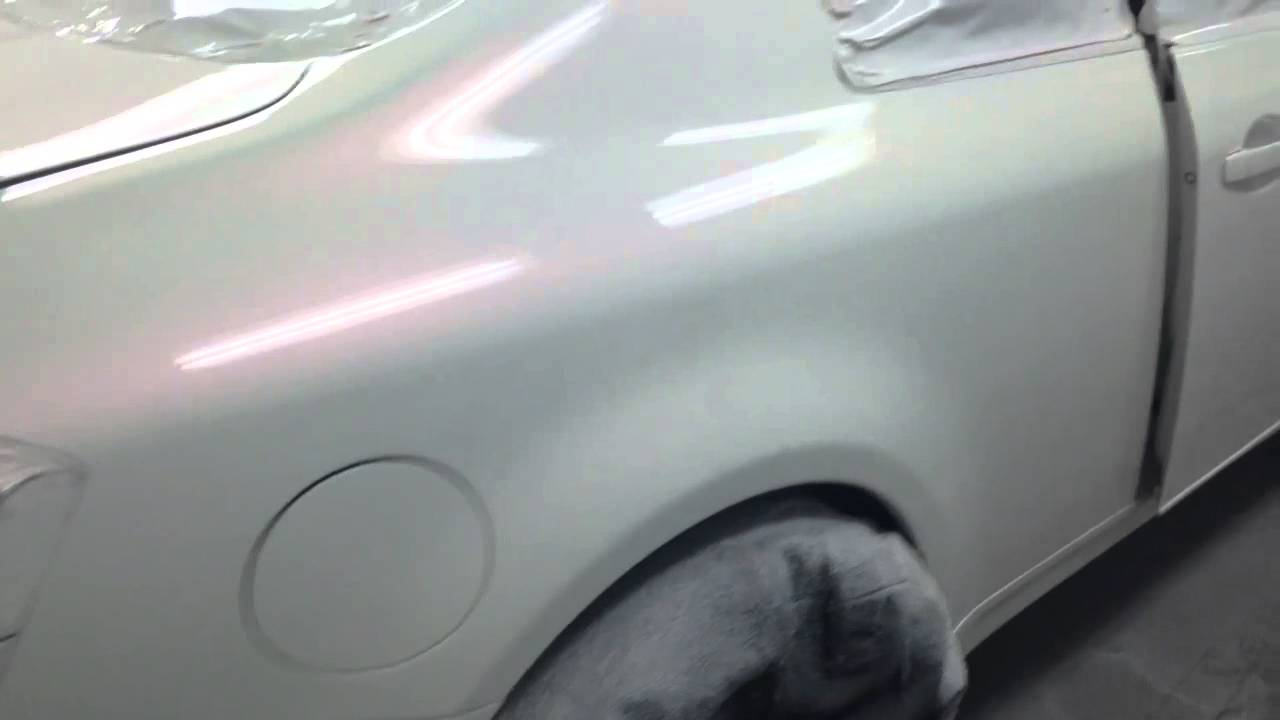 G 35 Sprayed House Of Kolor White With A Red Pearl Youtube