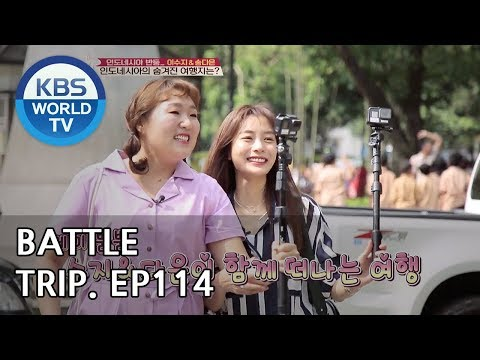 Battle Trip | 배틀트립 – Ep.114 Lee Suji and Song Daeun's trip to Bandung! [ENG/THA/2018.11.11]