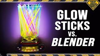 We're Blending up Glow Sticks