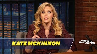 Kate McKinnon Perfectly Impersonates Marianne Williamson at the Democratic Debate