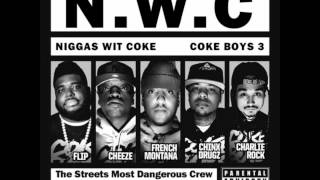 French Montana- Headquarter Feat. Chinx Drugz & Red Cafe (N.W.C Coke Boys 3)