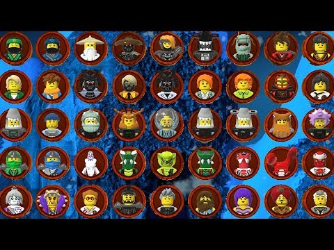 The LEGO Ninjago Movie Videogame - All Characters - www.noonews.ru