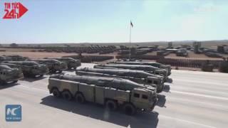Xem đội quân tên lửa của Trung Quốc trong lễ duyệt binh