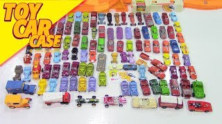 Pre Hot Wheels TOOTSIETOY and MIDGET TOY and MORE cars Toy Car Case