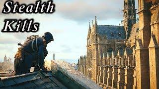 Assassin's Creed Unity: Stealth Kills Gameplay - Master Assassin - Mission Walkthrough - Vol.22
