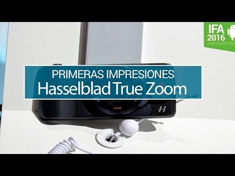 Hasselblad True Zoom, así es el accesorio que convierte al  Moto Z en una cámara digital
