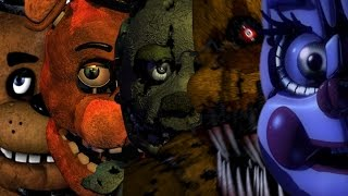 Five Nights At Freddy's 1 2 3 4 & Sister Location All Jumpscares | All FNAF Series Jumpscares