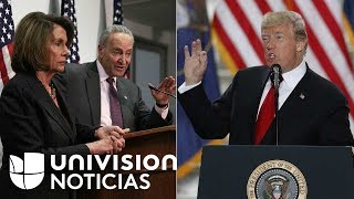 Presupuesto federal a cambio de solución para DACA: acuerdo al que podrían llegar demócratas y Trump