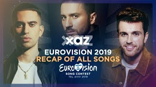 Eurovision 2019: Recap of All Songs