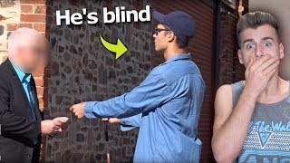 Would You Steal Money From A Blind Man?