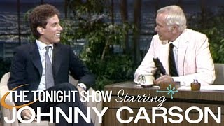 Jerry Seinfeld Delivers And Sits Down With Johnny | Carson Tonight Show