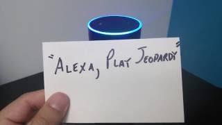 Alexa Skills: Jeopardy!'s Hidden Question-Answers