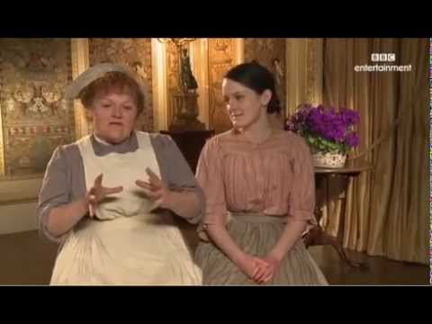 Lesley Nicol and Sophie McShera Downton Abbey Interview ...