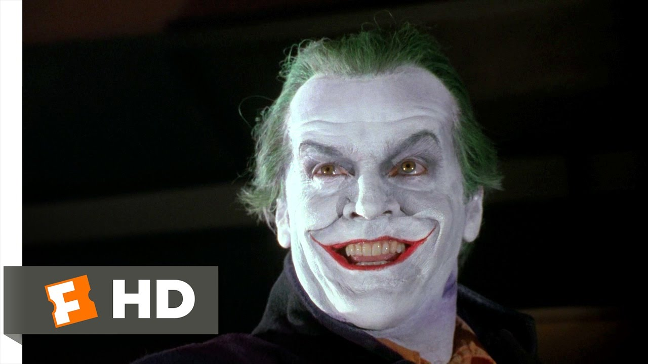Batman (1/5) Movie CLIP - You Can Call Me Joker (1989) HD ...
