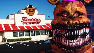 BUILDING THE FNAF 4 HOUSE AND NIGHTMARE ANIMATRONICS    Five Nights at Freddys Animatronic Universe