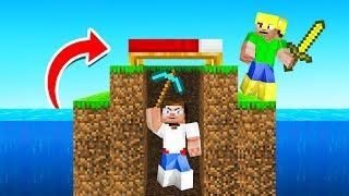 The SNEAKIEST Bed Wars TROLLING! (Minecraft)