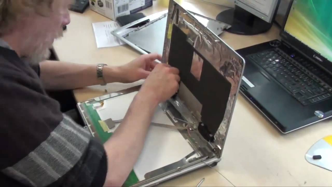 display deckel tausch fujitsu siemens notebook laptop. Black Bedroom Furniture Sets. Home Design Ideas