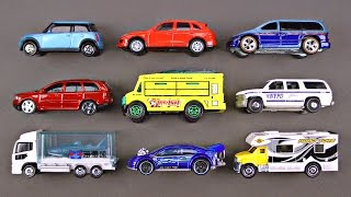 Best Kids Learning Cars Trucks Autos Street Vehicles for Children Toy Hot Wheels Matchbox Tomica - YouTube