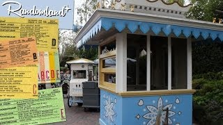 Disneyland's Abandoned Ticket Booths (Sorta) - Fantasyland Secrets! - Randomland HD