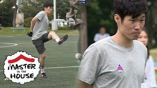 Will ParkJiSung Put His Hands in the Back and Kick With His Left Foot?! [Master in the House Ep 24]