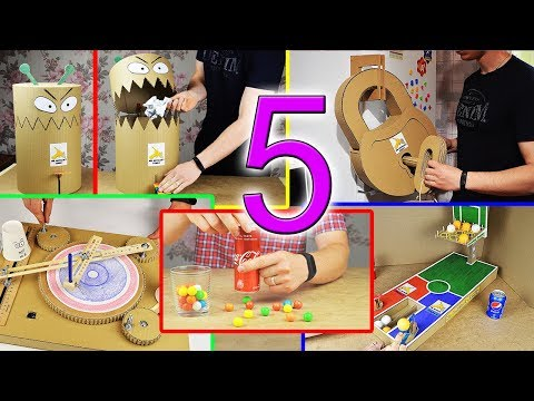 5 Amazing Things You Can Do at Home from Cardboard