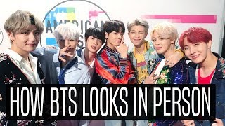 I MET BTS: HOW THEY LOOK IN PERSON