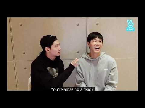 Changmin @Yunho's low self esteem: 👏🏻 YOU👏🏻 ARE 👏🏻 U-KNOW 👏🏻 YUNHO 👏🏻